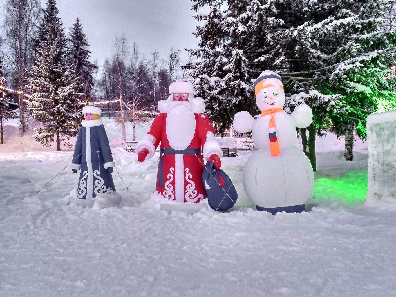 Снежная ''троица''