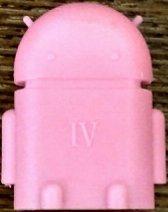 Розовый Android